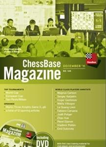 Obrázek z ChessBase Magazine 145 DVD