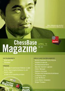 Obrázek z ChessBase Magazine 141 DVD