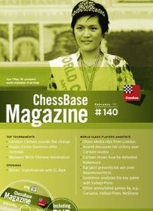 Obrázek z ChessBase Magazine 140 DVD