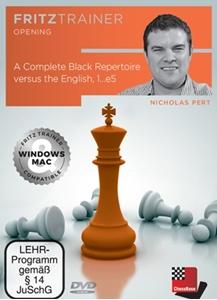 Obrázek z A Complete Black Repertoire versus the English, 1...e5 (DVD)